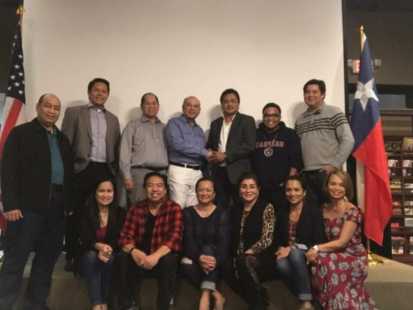 Visiting the newly chartered Fil Am Chamber of Commerce in Greater Houston