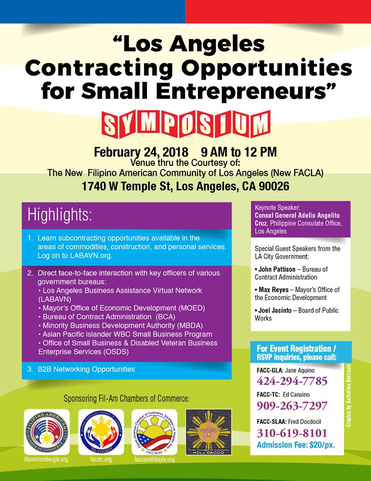 Get Certified Now To Be A Subcontractor Of The City Of La Faccgla