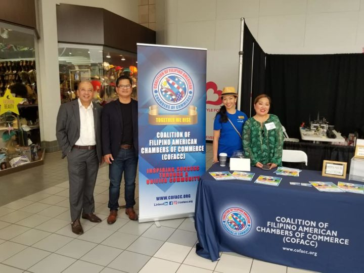 COFACC is at the South Bay Pavilion Mall in Carson supporting the Asian Journal Travel Trade And Consumer Event  together with FACC GLA and FACC Orange County