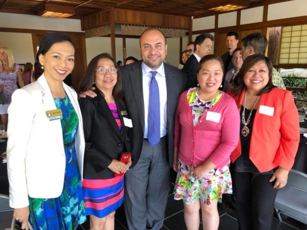 Japanese Garden Lunch with Assembly Member Adrin Nazaria