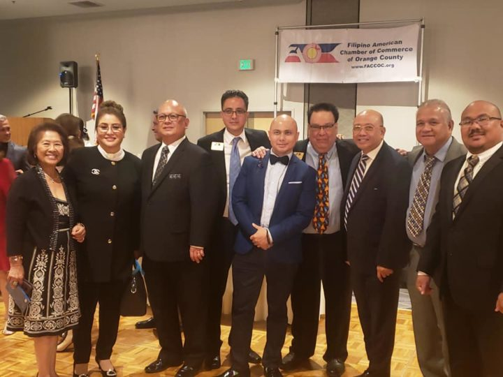 Congratulations to Mr. Joseph Joseph for being inducted tonight by Senator LingLing Chang as the new President of the Filipino American Chamber of Commerce Orange County