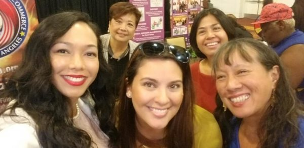 Filipina Americans at the Women Move Los Angeles Third Annual State of Women & Girls Address and Expo