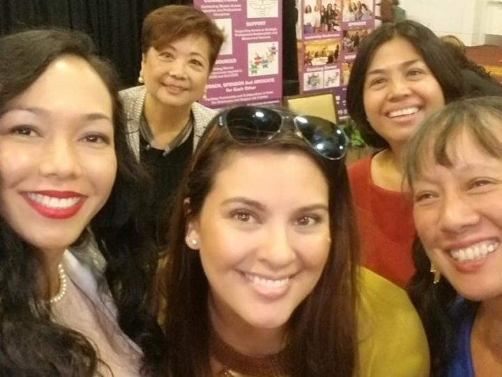 Proudly representing the Filipina Americans at the Women Move Los Angeles Third Annual State of Women & Girls Address and Expo